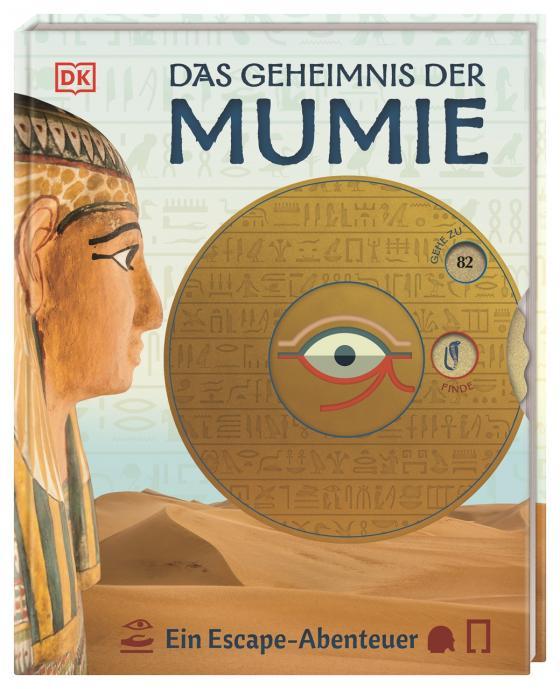 Cover-Bild Das Geheimnis der Mumie. Ein Escape-Abenteuer