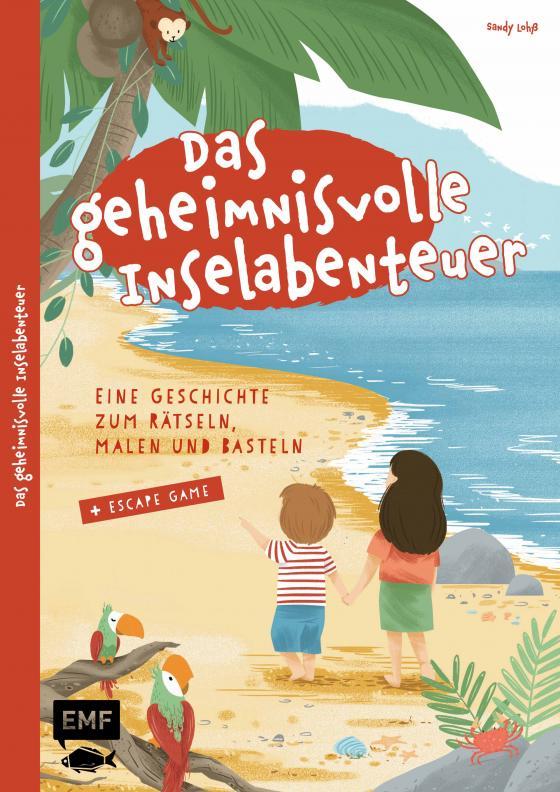 Cover-Bild Das geheimnisvolle Inselabenteuer – Eine Geschichte zum Rätseln, Malen und Basteln