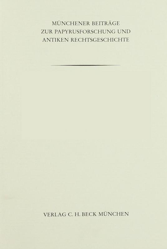 Cover-Bild Das Geld der Ptolemaier