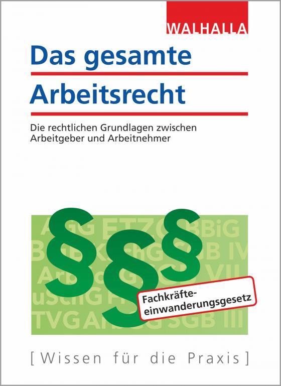 Cover-Bild Das gesamte Arbeitsrecht