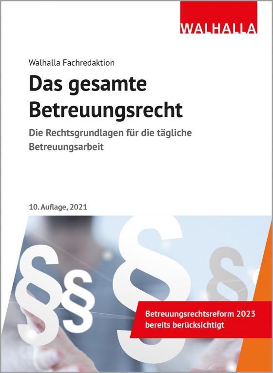 Cover-Bild Das gesamte Betreuungsrecht