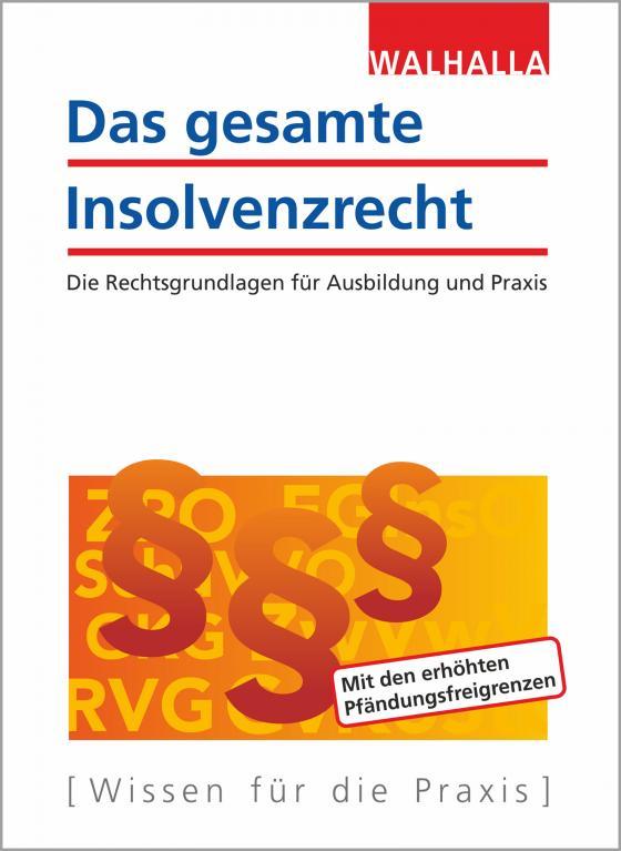 Cover-Bild Das gesamte Insolvenzrecht