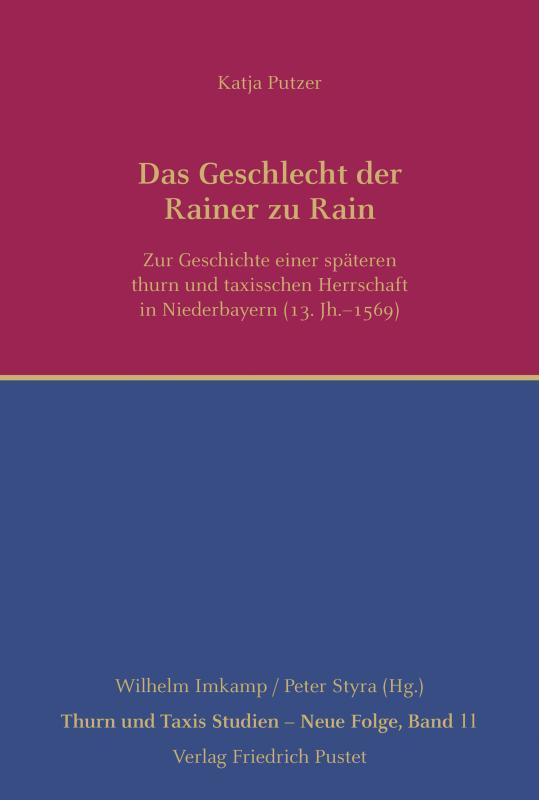 Cover-Bild Das Geschlecht der Rainer zu Rain