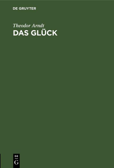 Cover-Bild Das Glück
