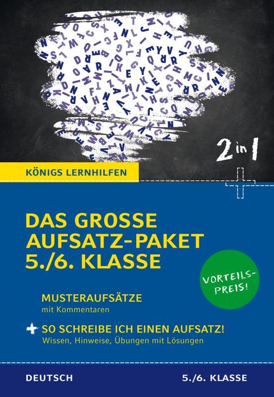 Cover-Bild Das große Aufsatz-Paket 5./6. Klasse