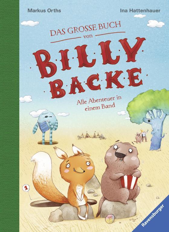 Cover-Bild Das große Buch von Billy Backe