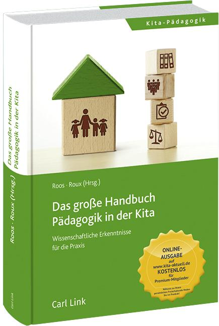 Cover-Bild Das große Handbuch Pädagogik in der Kita