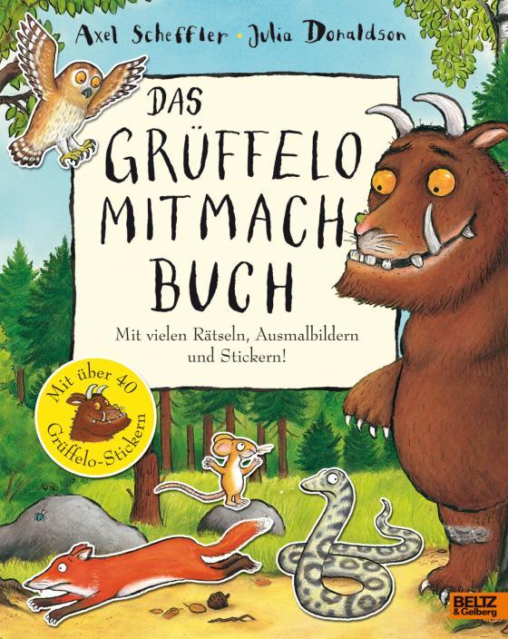 Cover-Bild Das Grüffelo-Mitmachbuch