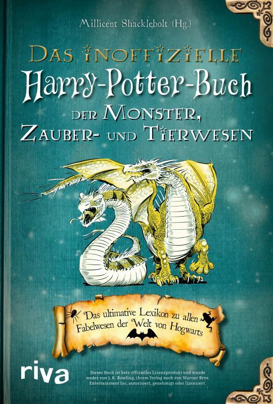Cover-Bild Das inoffizielle Harry-Potter-Buch der Monster, Zauber- und Tierwesen