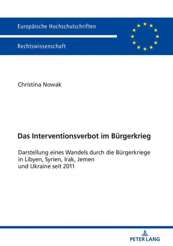 Cover-Bild Das Interventionsverbot im Bürgerkrieg
