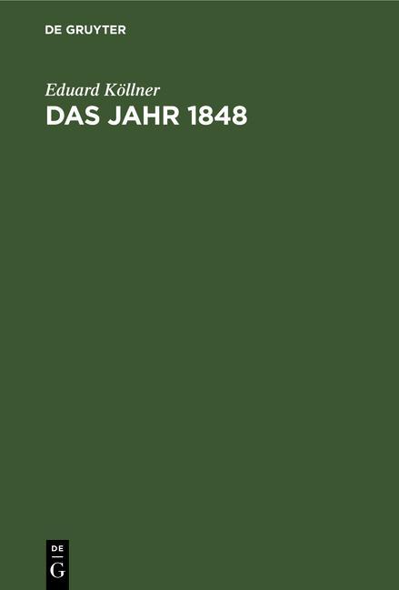 Cover-Bild Das Jahr 1848