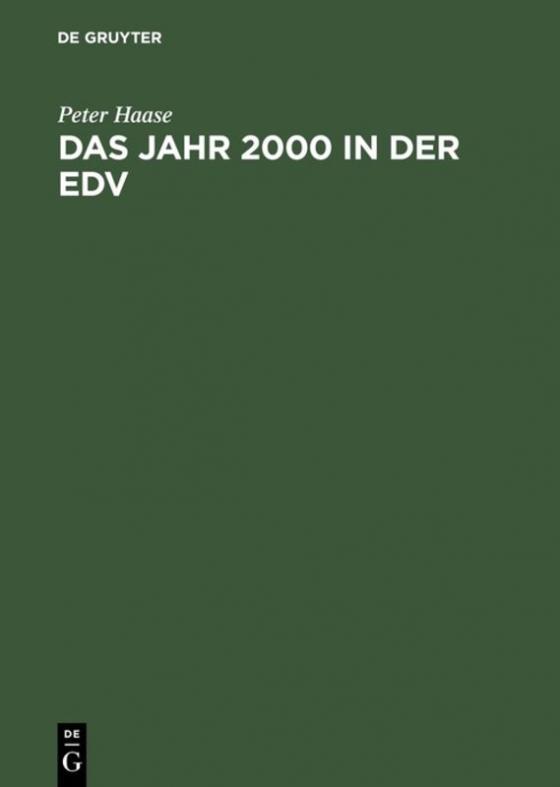 Cover-Bild Das Jahr 2000 in der EDV