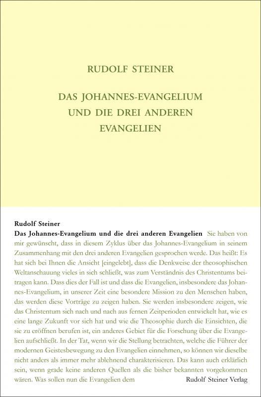 Cover-Bild Das Johannes-Evangelium und die drei anderen Evangelien