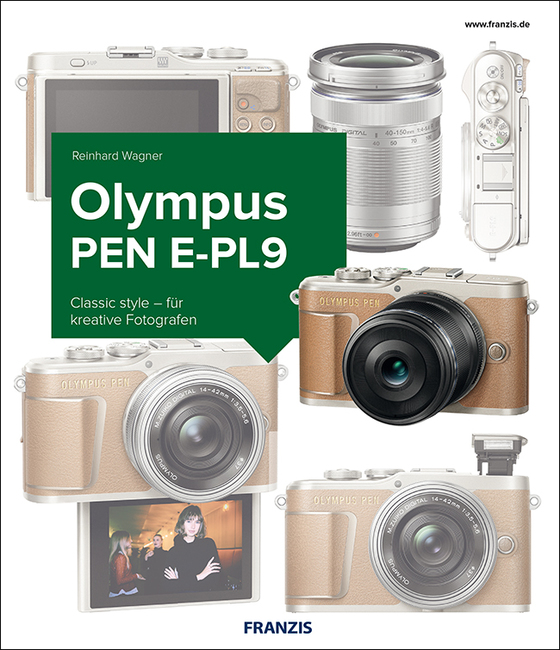 Cover-Bild Das Kamerabuch Olympus PEN E-PL9