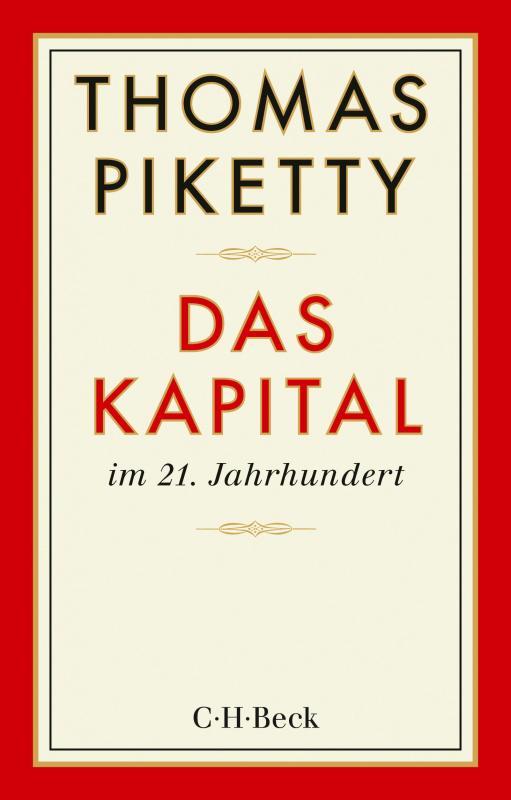 Cover-Bild Das Kapital im 21. Jahrhundert