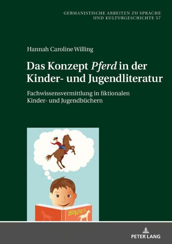 Cover-Bild Das Konzept «Pferd» in der Kinder- und Jugendliteratur
