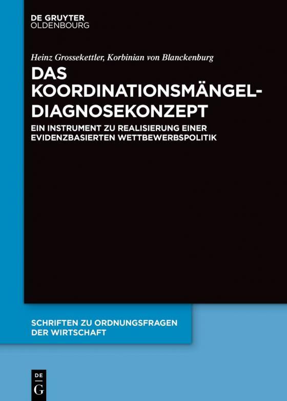 Cover-Bild Das Koordinationsmängel-Diagnosekonzept
