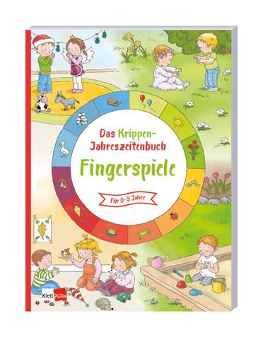 Cover-Bild Das Krippen-Jahreszeitenbuch