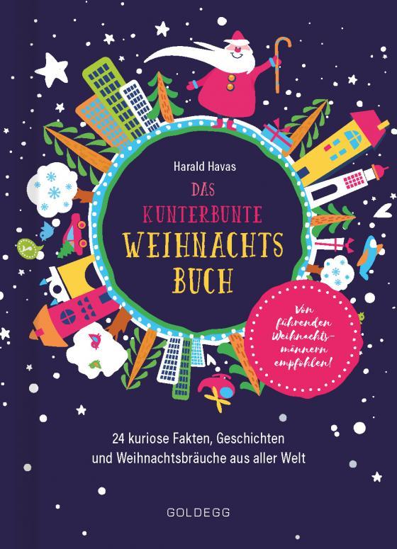 Cover-Bild Das kunterbunte Weihnachtsbuch