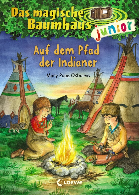 Cover-Bild Das magische Baumhaus junior - Auf dem Pfad der Indianer