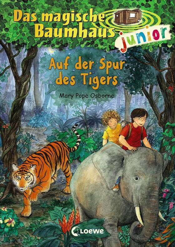 Cover-Bild Das magische Baumhaus junior - Auf der Spur des Tigers