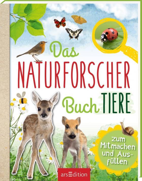 Cover-Bild Das Naturforscher-Buch Tiere
