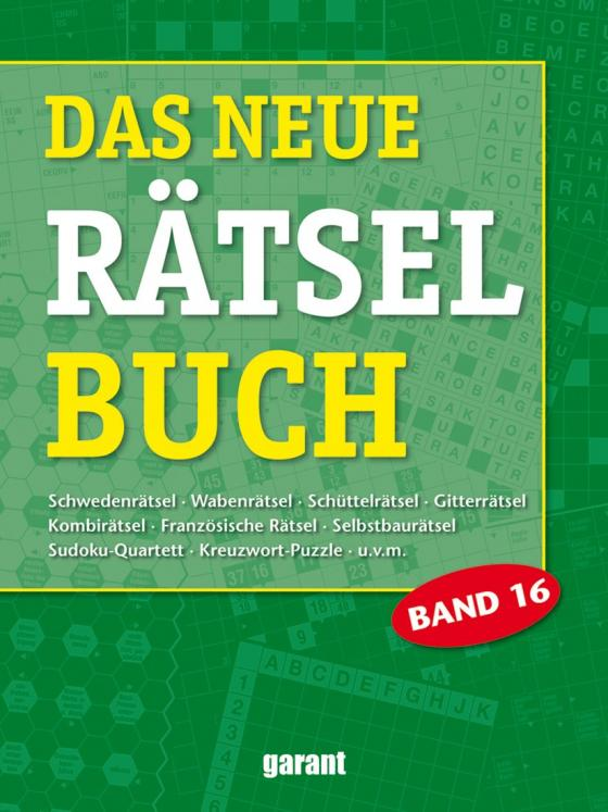 Cover-Bild Das neue Rätselbuch Band 16