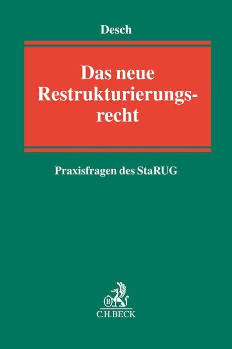 Cover-Bild Das neue Restrukturierungsrecht
