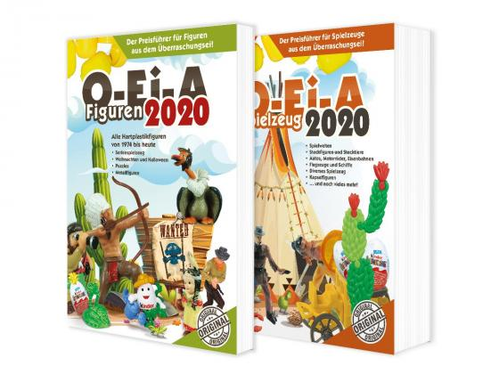 Cover-Bild Das O-Ei-A 2er Bundle 2020 - O-Ei-A Figuren und O-Ei-A Spielzeug im 2er-Pack mit 4,00 € Preisvorteil gegenüber Einzelkauf!