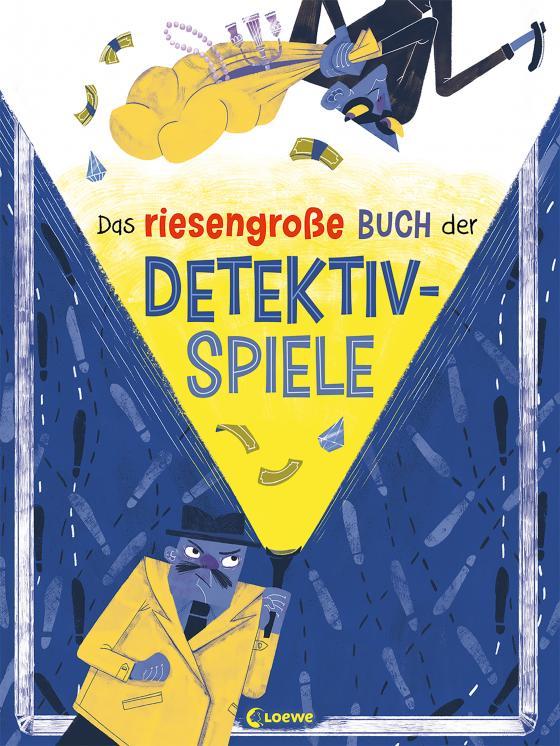 Cover-Bild Das riesengroße Buch der Detektivspiele