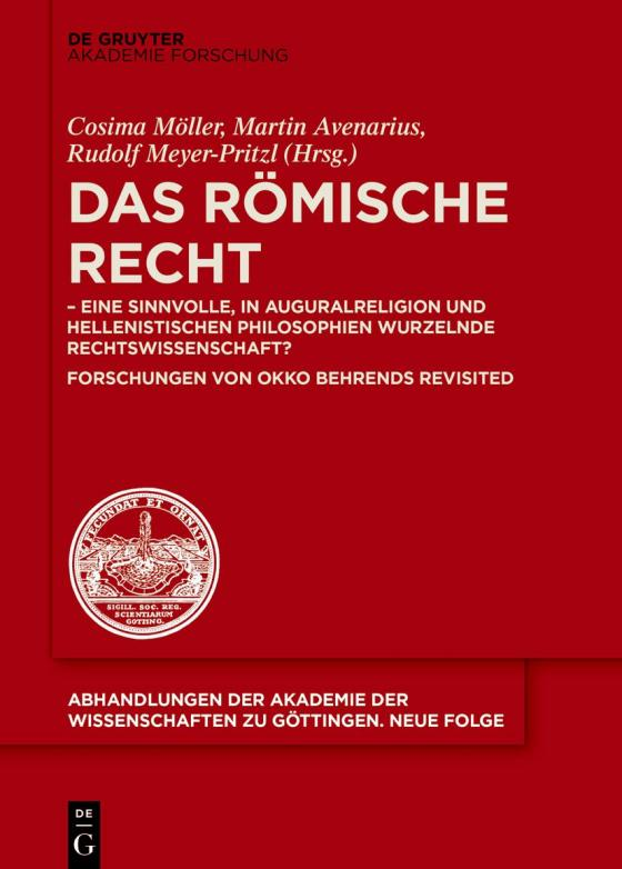 Cover-Bild Das Römische Recht