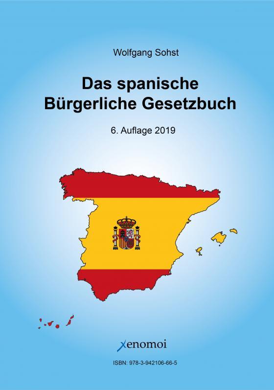 Cover-Bild Das spanische Bürgerliche Gesetzbuch