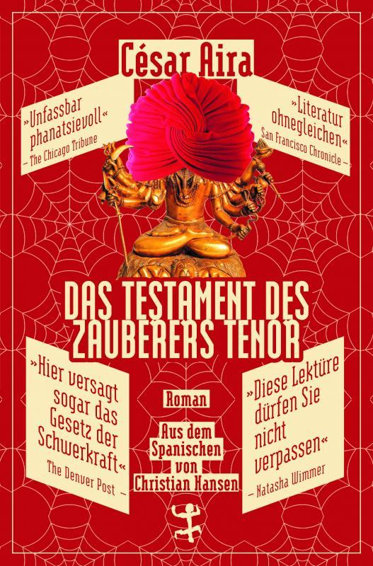 Cover-Bild Das Testament des Zauberers Tenor