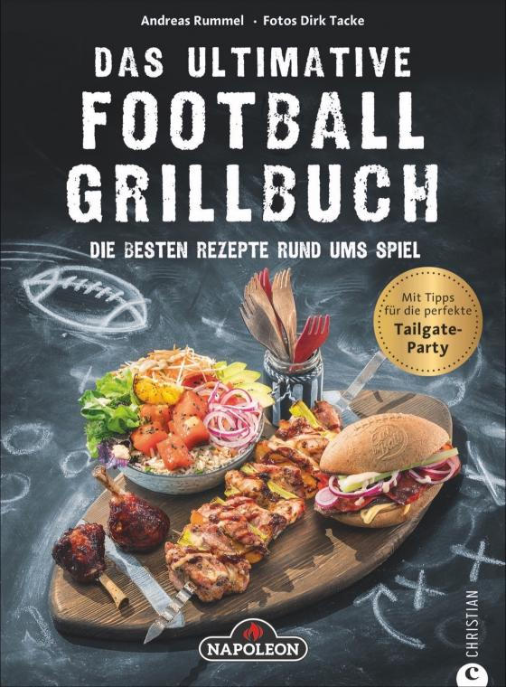 Cover-Bild Das ultimative Football-Grillbuch