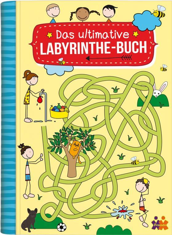 Cover-Bild Das ultimative Labyrinthe Buch