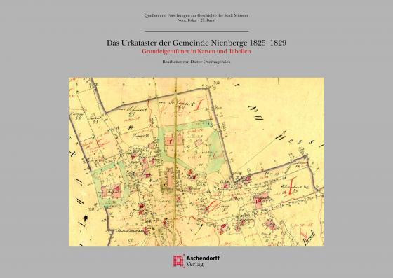 Cover-Bild Das Urkataster der Gemeinde Nienberge 1825 -1829