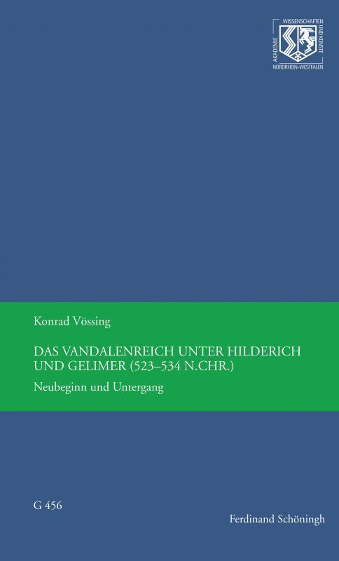 Cover-Bild Das Vandalenreich unter Hilderich und Gelimer (523-534 n. Chr.)