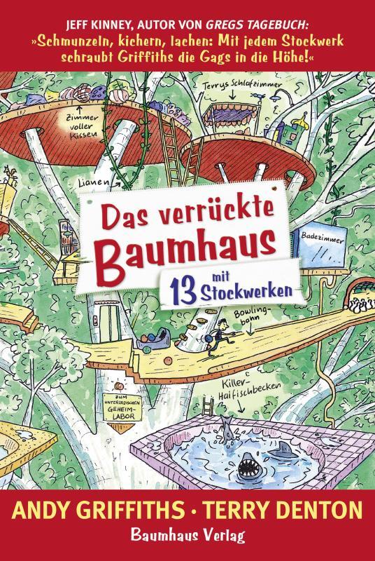 Cover-Bild Das verrückte Baumhaus - mit 13 Stockwerken