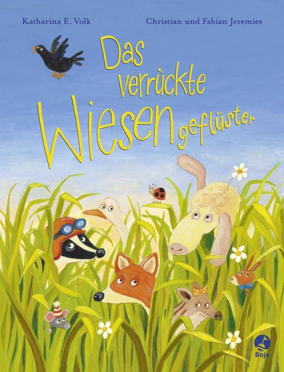 Cover-Bild Das verrückte Wiesengeflüster