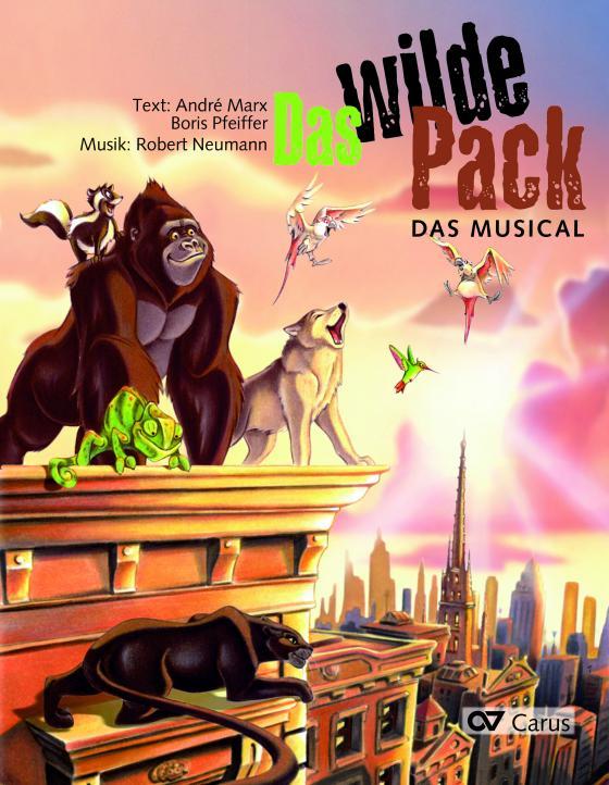 Cover-Bild Das Wilde Pack (Klavierauszug)