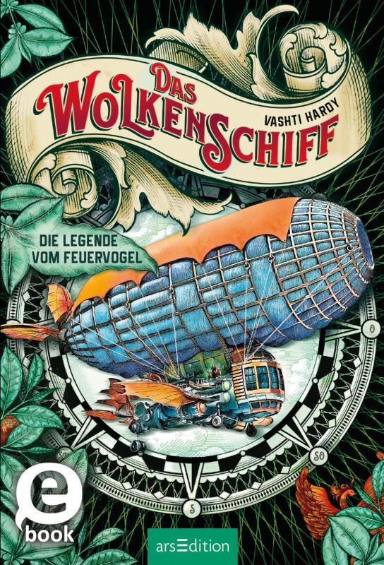 Cover-Bild Das Wolkenschiff - Die Legende vom Feuervogel (Das Wolkenschiff 2)