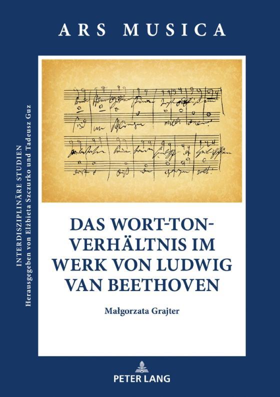 Cover-Bild Das Wort-Ton-Verhältnis im Werk von Ludwig van Beethoven