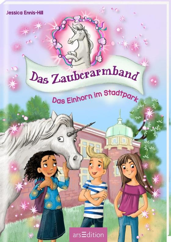 Cover-Bild Das Zauberarmband - Das Einhorn im Stadtpark