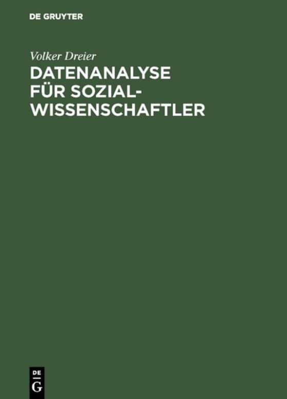 Cover-Bild Datenanalyse für Sozialwissenschaftler