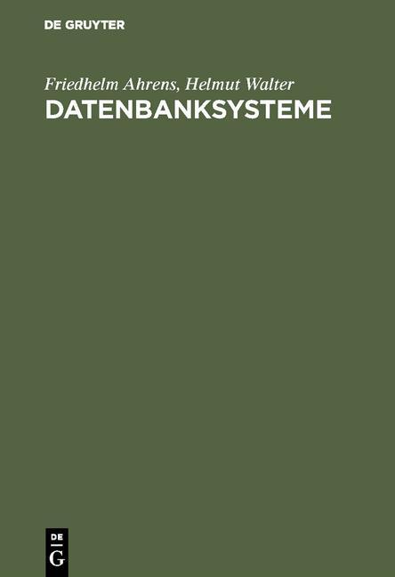 Cover-Bild Datenbanksysteme