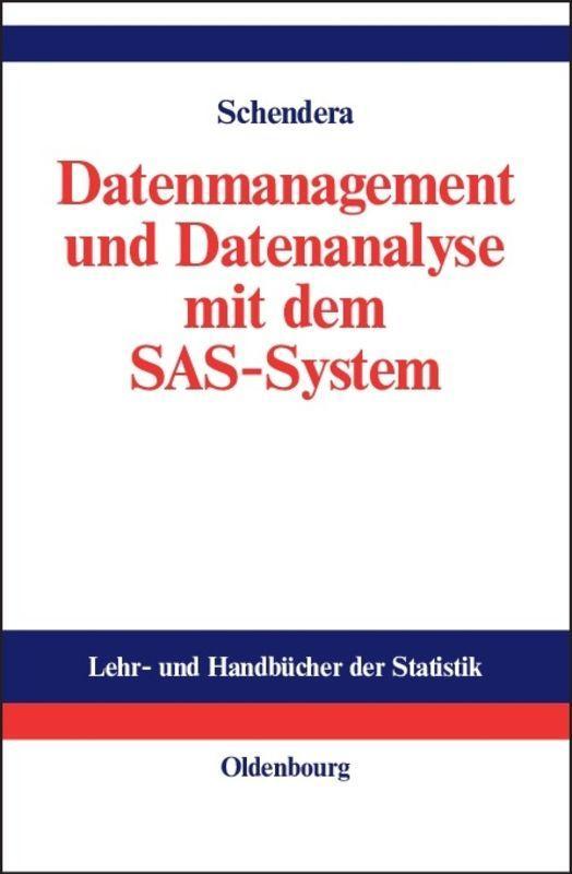 Cover-Bild Datenmanagement und Datenanalyse mit dem SAS-System