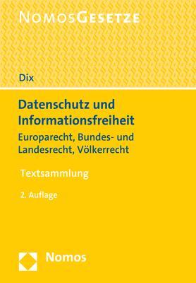 Cover-Bild Datenschutz und Informationsfreiheit