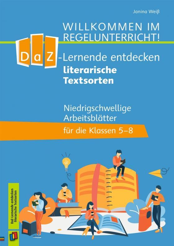 Cover-Bild DaZ-Lerner entdecken literarische Textsorten