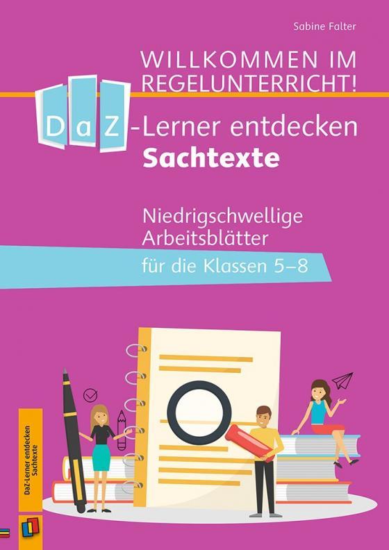 Cover-Bild DaZ-Lerner entdecken Sachtexte