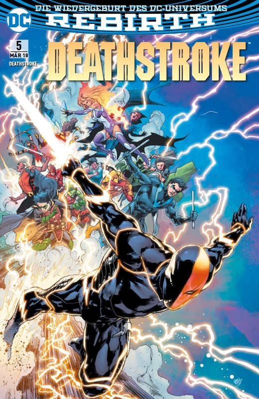 Cover-Bild Deathstroke